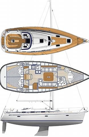 bavaria-37-cruiser Layout