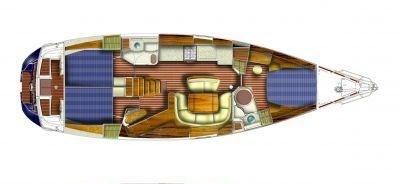 Sun Odyssey 49-plan 3cab.