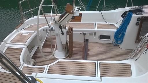 Oceanis 423 pozzetto